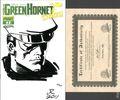 Green Hornet Strikes (2010 Dynamite) 1DF.SKETCH.B