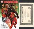 Deadpool (2008 2nd Series) 61DF.SIGNED