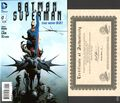 Batman Superman (2013 DC) 1A.DF.SIGNED