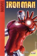 Iron Man Heart of Steel SC (2008 Marvel) A Target Saddle-Stitched Collection 1-1ST
