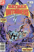 Batman and the Outsiders (1983) Mark Jewelers 3MJ