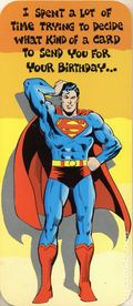 DC Comics Greeting Card (1978 DC Comics) 21