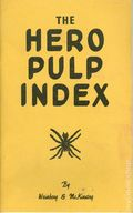 Hero Pulp Index (1970) Fanzine Checklist 1971