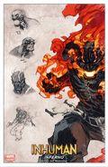 Inhuman Art Print (2014 Marvel NOW) PRINT#01/20