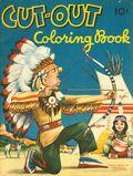 Cut-Out Coloring Book SC (c.1950) 40