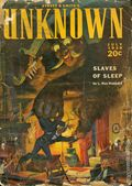 Street and Smith's Unknown (1939-1941 Street & Smith) Pulp Vol. 1 #5