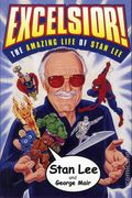 Excelsior! The Amazing Life of Stan Lee HC (2002 Simon & Schuster) A Fireside Book 1-1ST