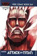 Kodansha Comics Featuring Attack on Titan (2015 Kodansha) FCBD 2015 2015