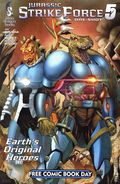 Jurassic Strike Force 5 (2015 Silver Dragon Books) FCBD 1
