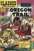 Classics Illustrated 072 The Oregon Trail (1950) Canadian Edition HRN75