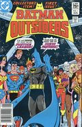 Batman and the Outsiders (1983 1st Series) Canadian Price Variant 1