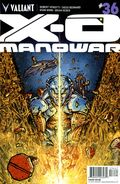 X-O Manowar (2012 3rd Series Valiant) 36D
