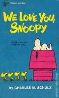 We Love You, Snoopy PB (1970 Fawcett Crest) 1-1ST