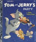 Tom and Jerry's Party HC (1955 A Little Golden Book) 235-REP