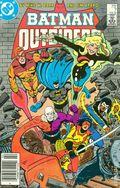 Batman and the Outsiders (1983) Mark Jewelers 7MJ