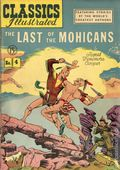 Classics Illustrated 004 The Last of the Mohicans (1942) Canadian Edition HRN47