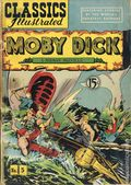 Classics Illustrated 005 Moby Dick (1942) Canadian Edition HRN54