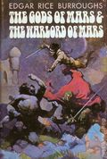 Gods of Mars and the Warlord of Mars HC (1971 Doubleday Novel) By Edgar Rice Burroughs and Frank Frazetta 1-1ST