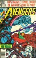 Avengers (1963 1st Series) Mark Jewelers 199MJ