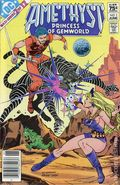 Amethyst Princess of Gemworld (1983 DC) Canadian Price Variant 2
