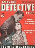 Amazing Detective Cases (1940-1960 Goodman) Vol. 1 #1