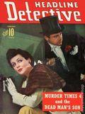 Headline Detective (1939-1944) True Crime Magazine Vol. 7 #2