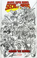 Marvel Super Heroes Secret Wars Behind the Scenes HC (2015 Marvel) 1-1ST