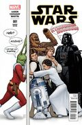 Star Wars (2015 Marvel) 1LAUNCHPARTY.A