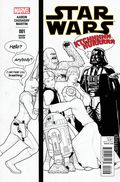 Star Wars (2015 Marvel) 1PARTYB&W