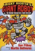 Ricky Ricotta's Mighty Robot vs, the Mutant Mosquitoes from Mercury SC (2000 Scholastic) 1-REP