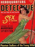 Headquarters Detective (1940) True Crime Magazine Vol. 1 #4