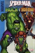 Spider-Man, Hulk and Iron Man SC (2008 Marvel) A Target Saddle-Stitched Collection 1-1ST