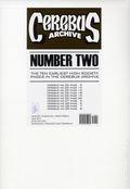 Cerebus Archive (2014 Aardvark-Vanaheim) ITEM#2