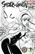 Spider-Gwen (2015 1st Series) 2ECCC.B&W