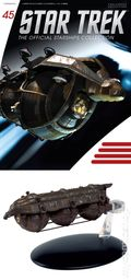 Star Trek The Official Starship Collection (2013 Eaglemoss) Magazine and Figure #045