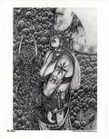 Poison Elves Pencil Sketch Portfolio (2007 Sirius) ITEM#1