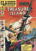 Classics Illustrated 064 Treasure Island (1949) Canadian Edition HRN 67