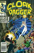 Cloak and Dagger (1985 Marvel 2nd Series) Mark Jewelers 1MJ