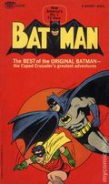Batman The Best of the Original Batman PB (1966 Signet) 1-REP