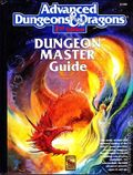 Advanced Dungeons and Dragons Dungeon Master Guide HC (1989 TSR/Wizards of the Coast) 2nd Edition 1A-1ST