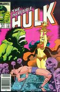 Incredible Hulk (1962-1999 1st Series) Mark Jewelers 311MJ