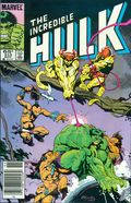 Incredible Hulk (1962-1999 1st Series) Mark Jewelers 313MJ