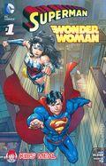 Superman Wonder Woman (2014) Wendy's Giveaway 1U