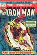 Iron Man (1968 1st Series) Mark Jewelers 71MJ