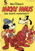 Micky Maus (German Series 1951- Egmont Ehapa) 1952, #2B