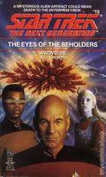 Star Trek The Next Generation The Eyes of the Beholders PB (1990 Pocket Novel) 1-REP