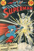 Superman (1939 1st Series) Mark Jewelers 266MJ