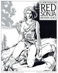 Red Sonja Portfolio by Jackson Guice (1988 SQ Productions) 1
