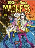 Rock N Roll Madness Funnies (1973 Cozmic Comics) UK 1