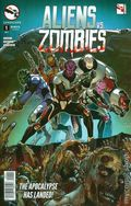Aliens vs. Zombies (2015 Zenescope) 1A